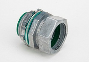 "1"" Raintight Compression Connector, Insulated"