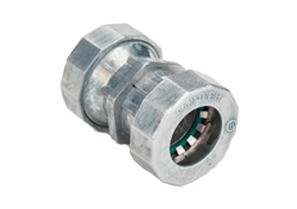 """Mighty-B® PUSH-EMT® Fittings - 1/2"""" Mighty-Bite™ Raintight Couplings."""