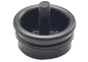 Pull Cap, Polyethylene, Size 1 1/4 Inch