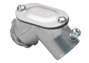 Set Screw Connector Pull Elbow, Zinc Die Cast