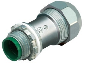 """Mighty-Seal® 1/2"""" PVC Jacketed MC/TECK Cable Connector with Insulated Throat"""