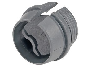 Connector, Snap-In, PVC, k.o. size 3/4""