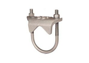 "3"" Right Angle type conduit clamp for Rigid, IMC and EMT conduit."