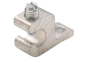 Lug, Solderless, Aluminum, Stud Size 1/4 Inch