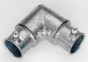 Set Screw Corner Elbow with Side Cover
