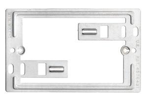 Bracket, Mounting, Communication / Data Plate, Zinc plated steel