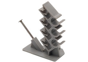Cable Stacker, Plastic, Data / Communication Cable