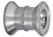 Bridgeport Fittings Mighty-Bite™ Couplings are dry location PUSH-EMT® fittings.
