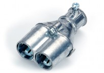 "Mighty-Merge® Transition Fittings. 1/2"" EMT to Duplex AC/MC Coupling"