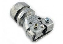 "Mighty-Merge® Transition Fittings.  3/4"" EMT to Duplex AC/MC/FMC Coupling"