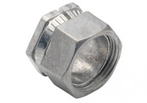 Connector, Low Profile Compression, Zinc Die Cast