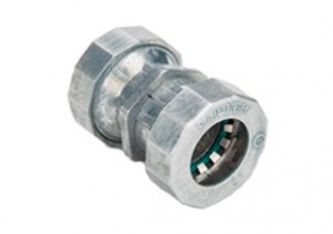 Mighty-Seal Raintight Push-EMT Coupling