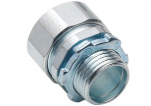 Made in the USA Steel Rigid Conduit Compression Connector
