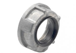 Bushing, Insulated, Zinc Die Cast