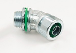 Connector, Liquid Tight, 45 Degree