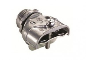Connector, Duplex, Strap, Zinc Die Cast