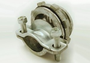 Connector, Strap, Two Screw, Zinc Die Cast