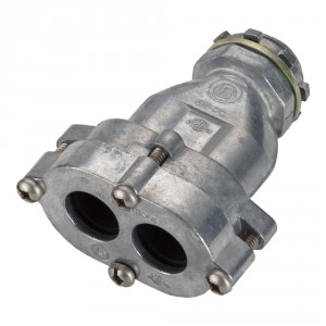 Mighty-Seal® EMT to DUPLEX JMC/TECK Transition Connector and Couplings
