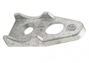 Clamp Back, Malleable Iron