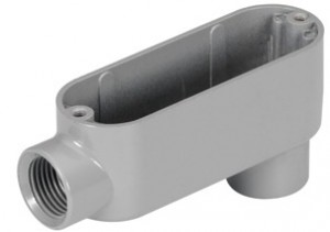 Rigid and IMC Conduit Body, Type LB, Aluminum