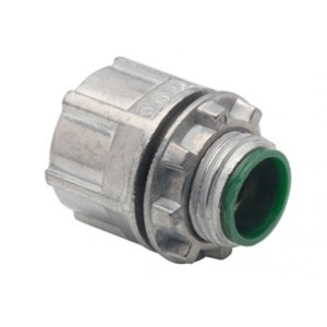 Polyolefin Coated Threaded Hub, Zinc Die Cast