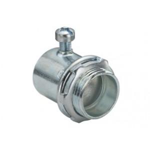 Connector, Set Screw, Steel, Insulated Throat