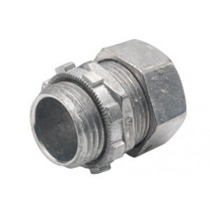 Connector, Compression, Zinc Die Cast