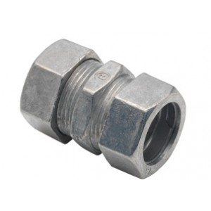 Coupling, Compression, Zinc Die Cast