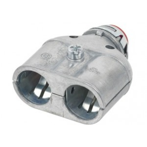 Insulated Duplex Whipper-Snap® Snap-In Connector