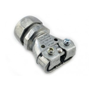 Mighty-Merge® Transition Fittings. EMT to Duplex AC/MC/FMC Coupling