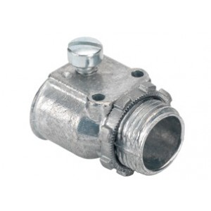 Connector, Duplex, Zinc Die Cast
