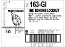 Locknut, Grounding, Insulated, Zinc Die Cast, Size 1 Inch, 14-4 Lug thumb2