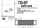Plate, Safety, Steel, 5