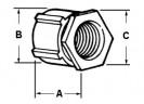 Coupling, Conduit, Three-Piece, Aluminum, Size 2 Inch thumb1
