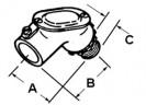 Set Screw Connector Pull Elbow, Zinc Die Cast thumb1