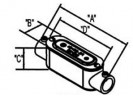 Combination Type C Conduit Body thumb1
