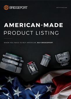Bridgeport Made in America Brochure